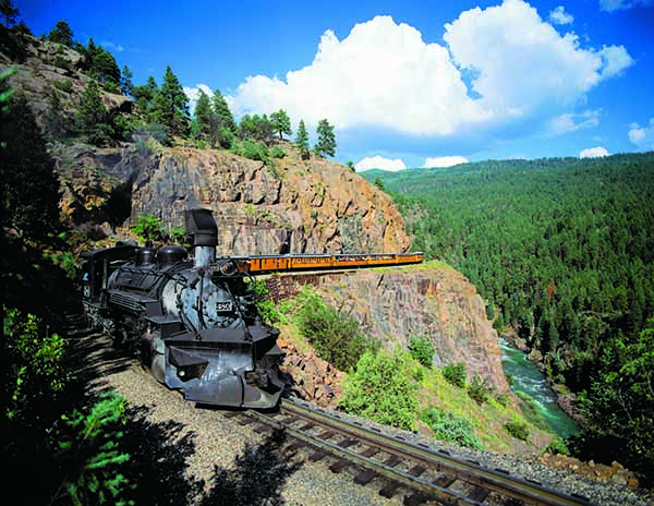 Durango Silverton train colorado