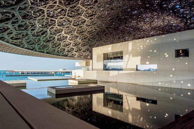 Louvre Museum, interior, Abu Dhabi, United Arab Emirates