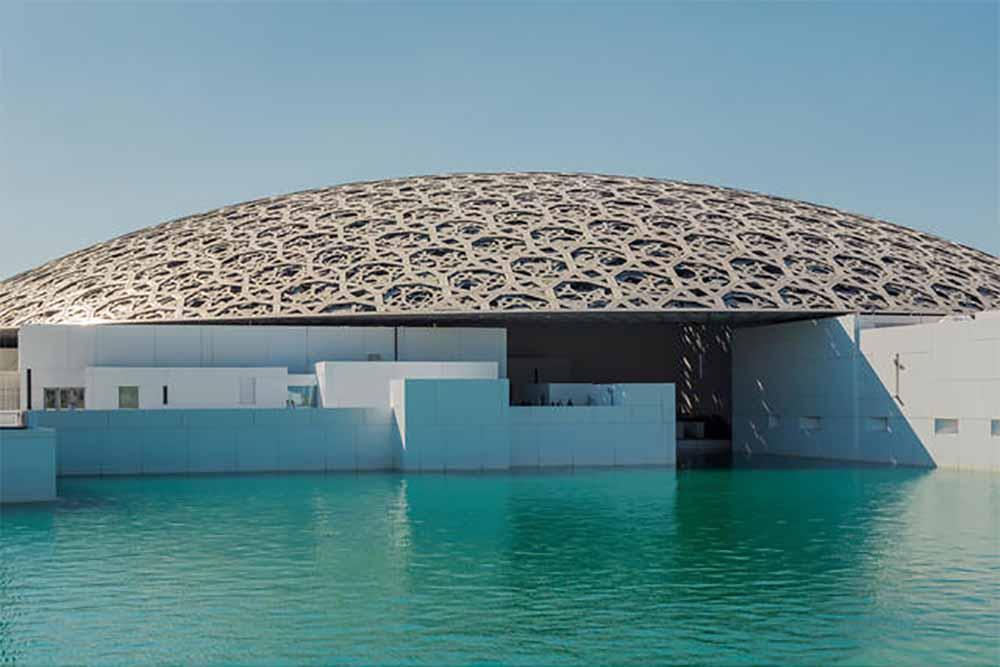 The Louvre Museum on Saadiyat Island