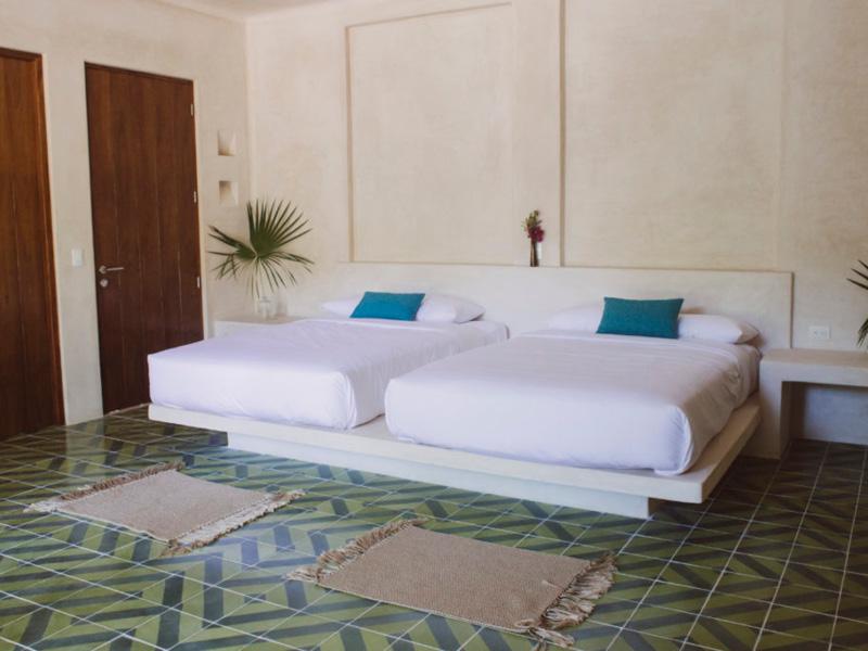 Bedroom at Holistika