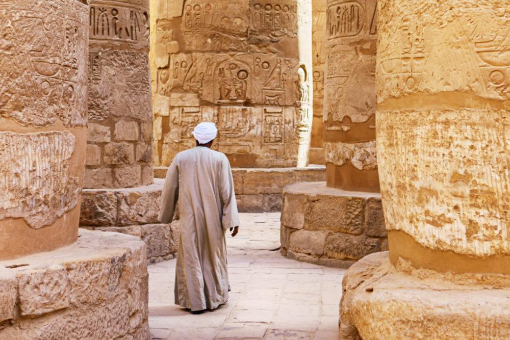 Ancienthieroglyphs in Luxor