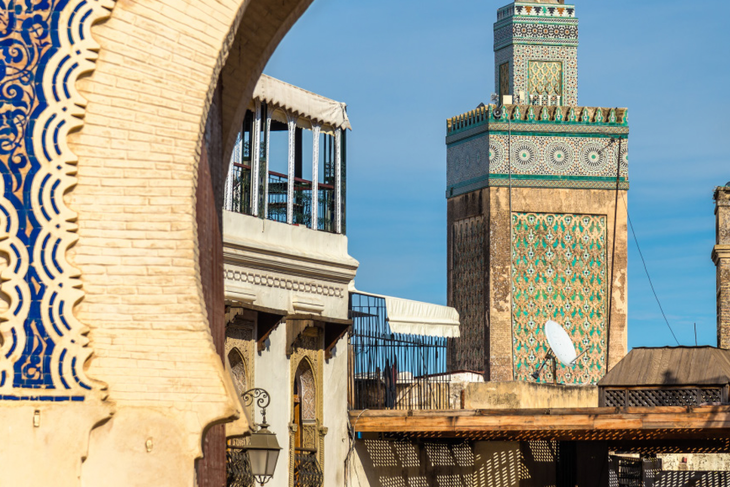 The spectacular city of Fez, Morocco