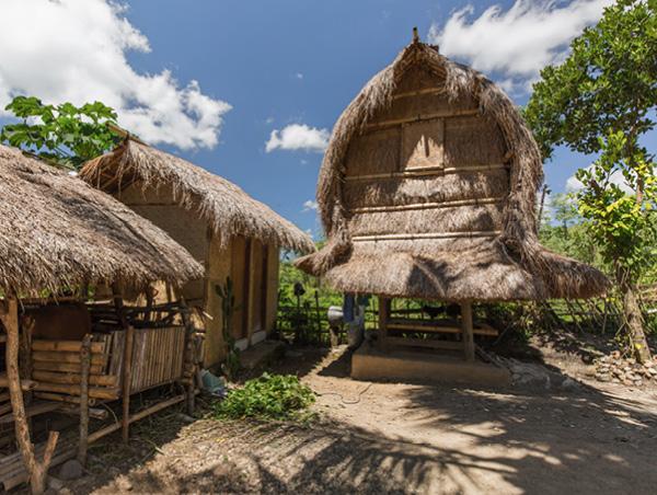 Bali beach hut