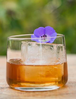 Glass of rum from Koloa Rum Tasting Room