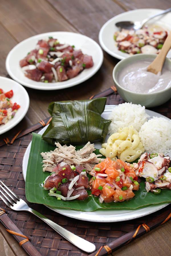 Plate lunch hawaii
