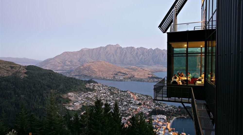 Queenstown Skyline Gondola and Restaurant, Queenstown, New Zealand.