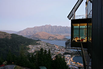 Queenstown Skyline Gondola and Restaurant, Queenstown, New Zealand.
