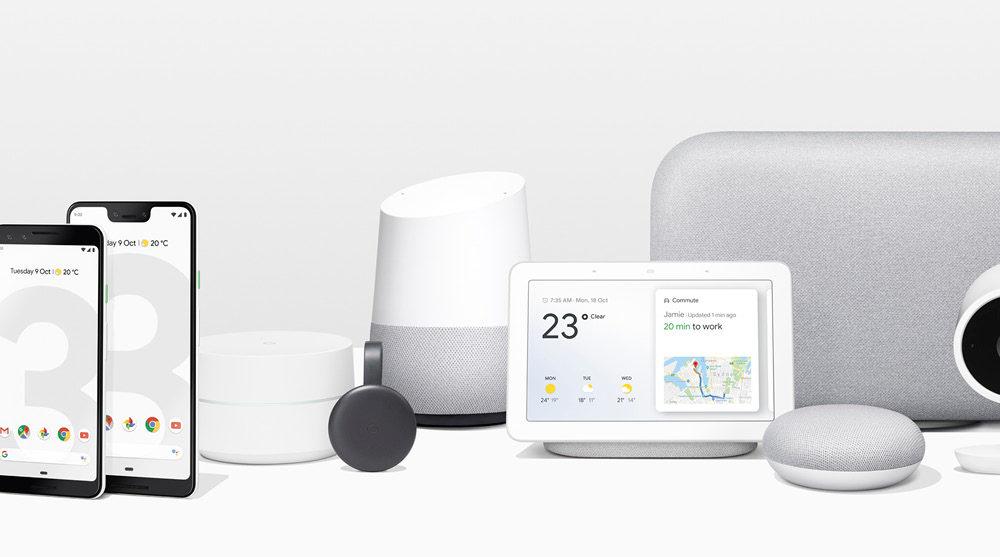Google Home Hub.