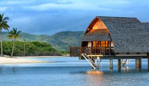 Fiji Marriott Momi Bay overwater resort