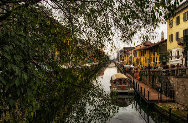 Naviglio Grande, Milan, Italy