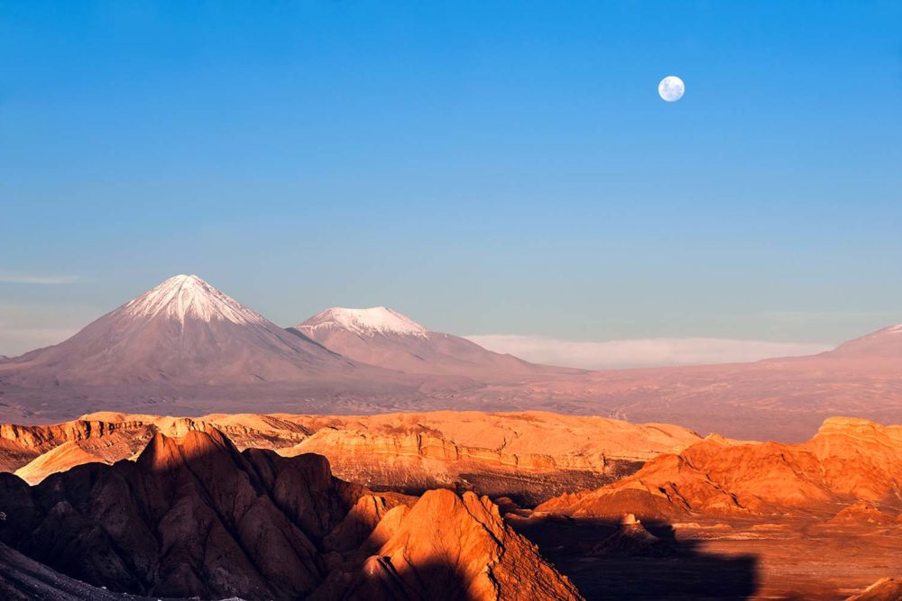 Moon valley, Chile