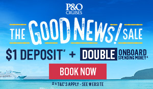 P&O cruises package deal