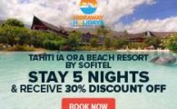 Tahiti Sofitel travel deal