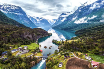 Norway landscape