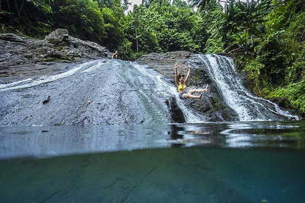 Papaseea Sliding Rocks, Samoa