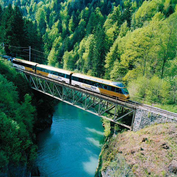 Trains in Switzerland