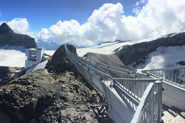The Peak Walk at Glacier 3000