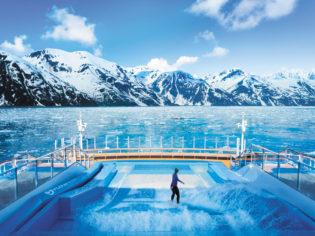 Cruising in Alaska
