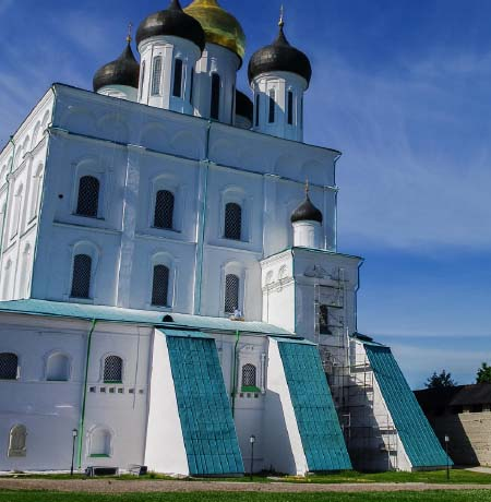 Architecture buffs should add Pskov to their bucket list