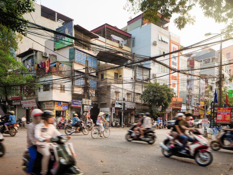 Hanoi Vietnam bikes