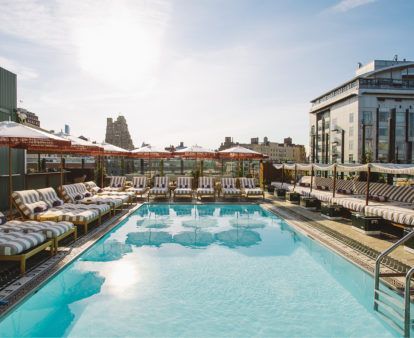 The New York City hotel pools worth checking in for
