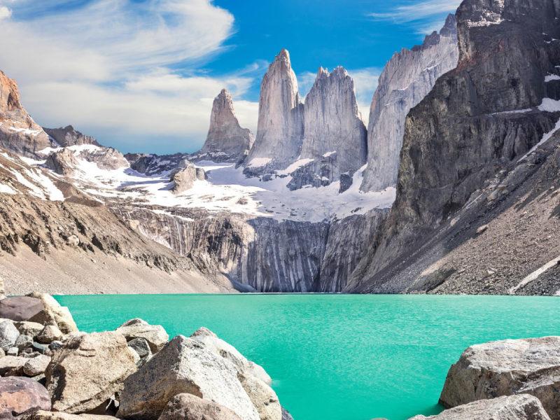 Torres Del Paine national parkhero