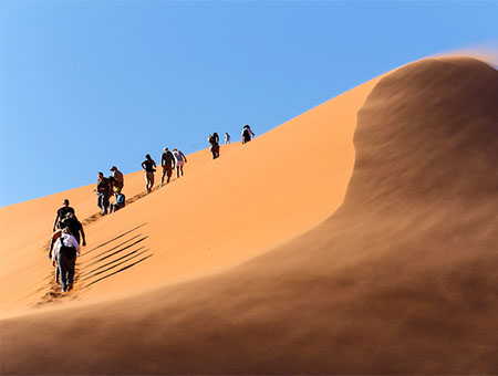 Sand dunes, Namibia, South Africa