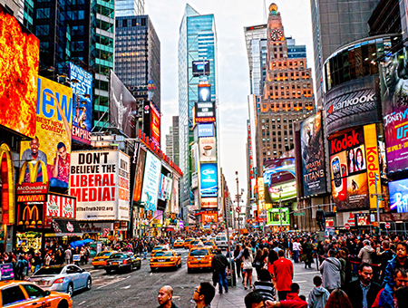 New York City, Most Incredible Cities