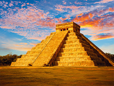 Mayan Ruins of Chichen Itza, Mexico