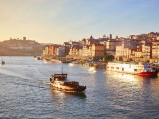 Ribeira riverbank is the beating heart of the city
