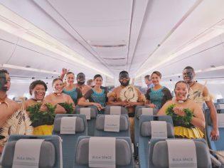 Crew Fiji Airways A350