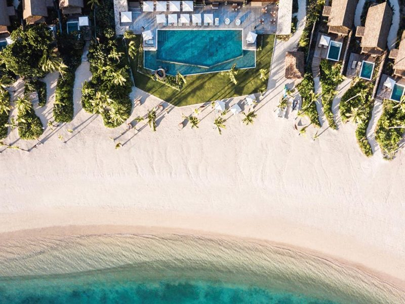 Tovolea and Beachfront Pool Villas, Six Senses Fiji