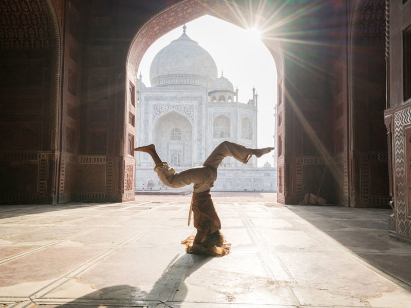 Yoga destinations in India