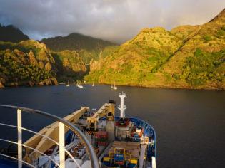 Aranui 5: the islands of Marquesas in French Polynesia