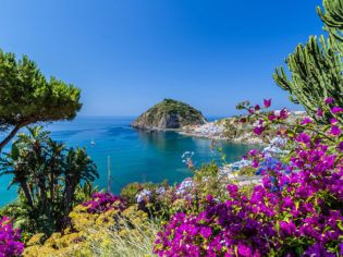 A view of Sant'Angelo, Ischia island, Italy